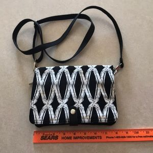 NWOT! thirty one double up crossbody bag